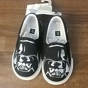 Baby Gap Star Wars Darth Vader Slip On Shoes 6